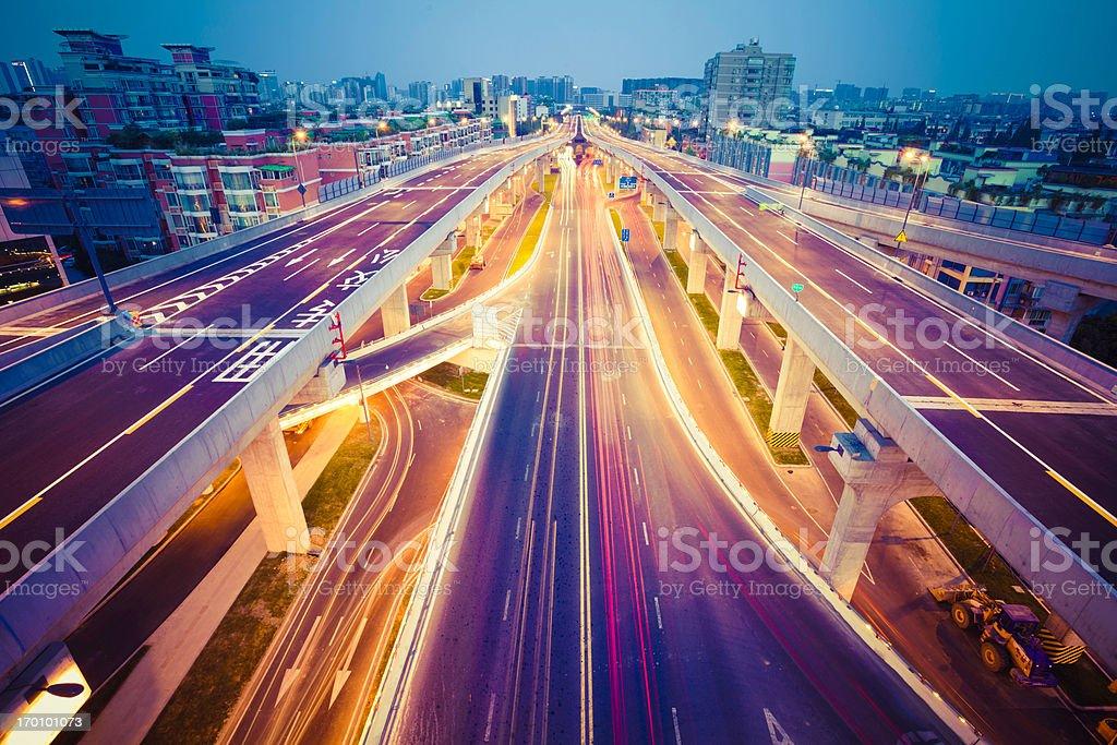 China traffic stock photo