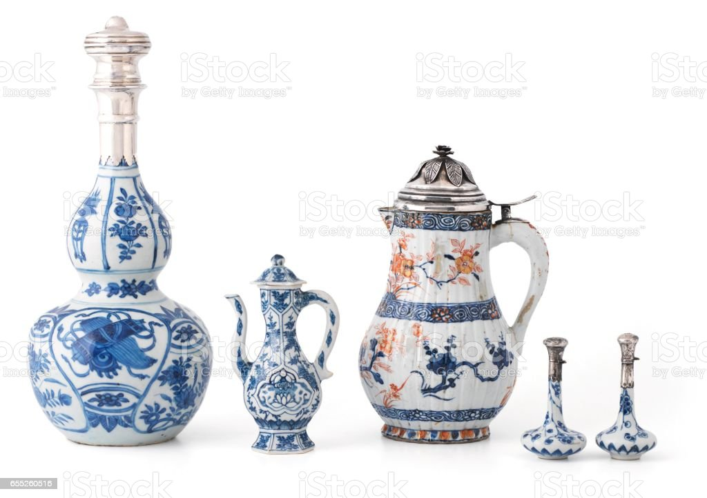 China vases stock photo