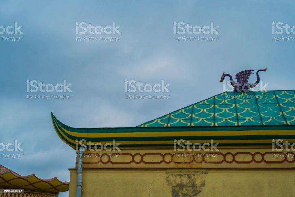 China Village, Tsarskoe Selo, Pushkin,  Saint Petersburg stock photo