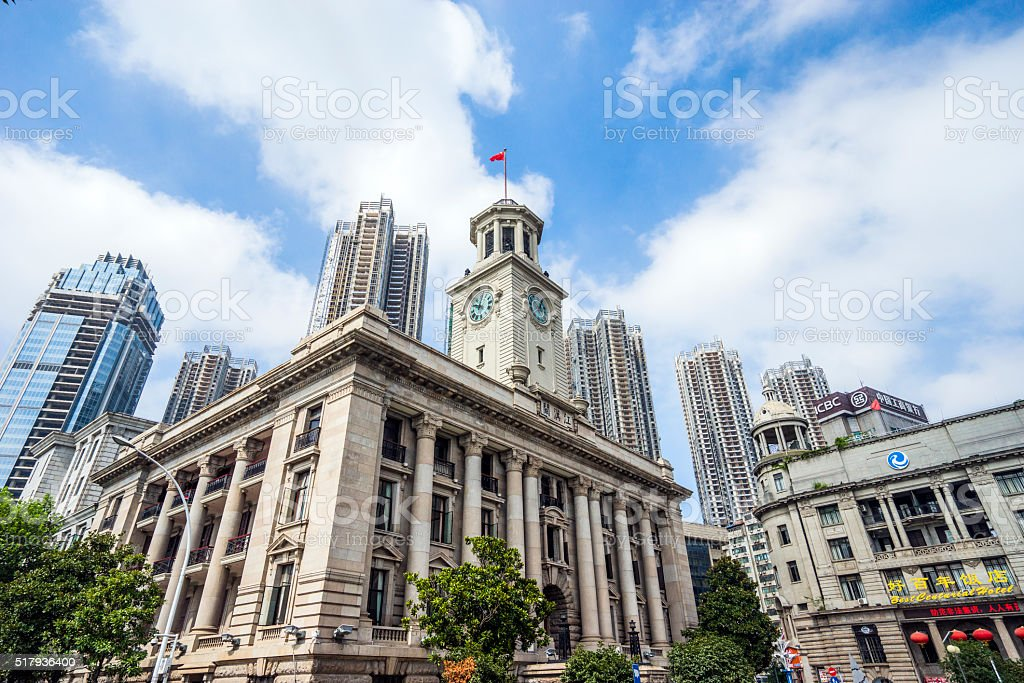 China Wuhan stock photo