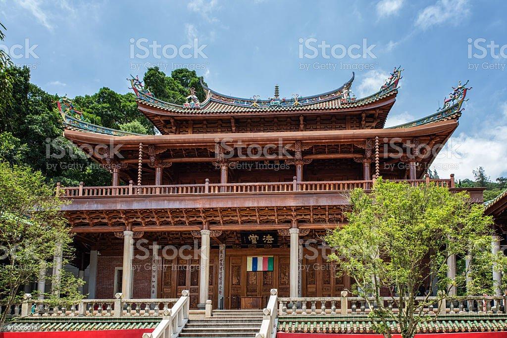 China Xiamen Nanputuo temple stock photo