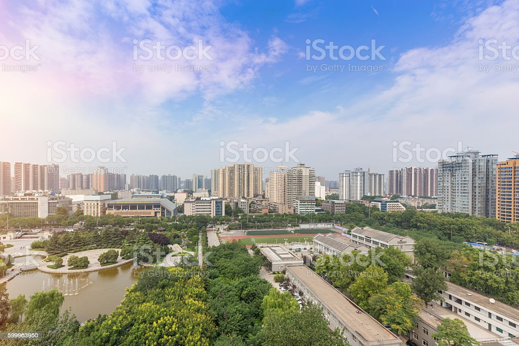 China Xi'an stock photo