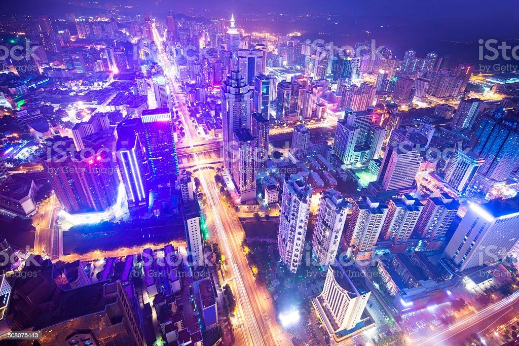 China's Megacity Shenzhen stock photo