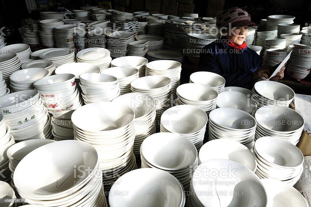 China's shop stock photo