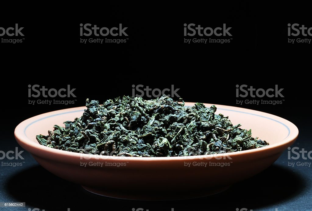 China's tea, drinks, healthy green plants stock photo