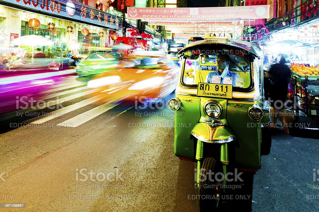 Chinatown, Bangkok, Thailand stock photo