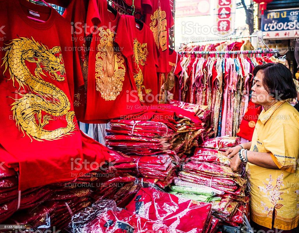Chinatown Bangkok Thailand stock photo