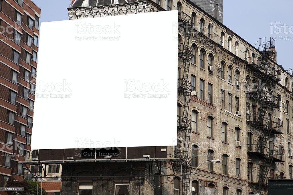 Chinatown billboard stock photo