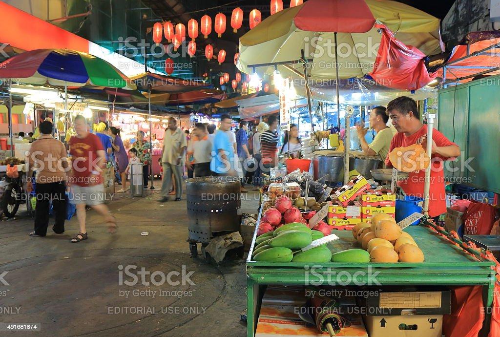 Chinatown Kuala Lumpur Malaysia stock photo