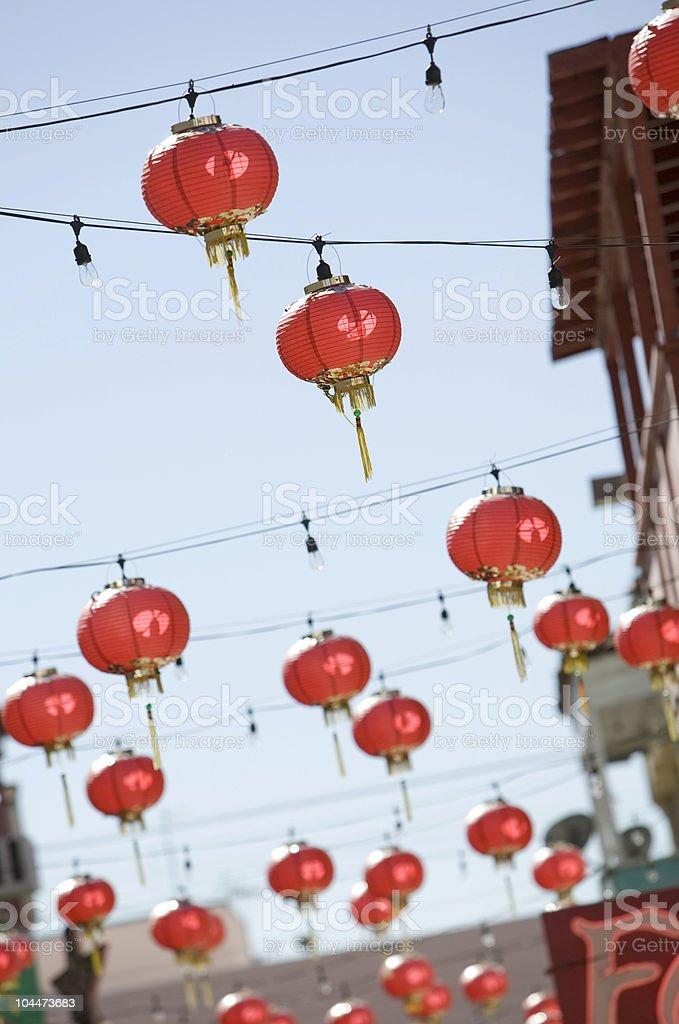 Chinatown Lanterns royalty-free stock photo