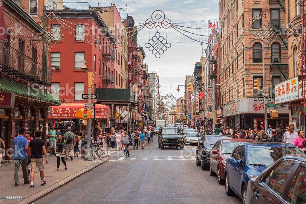 Chinatown, Manhattan, New York City stock photo