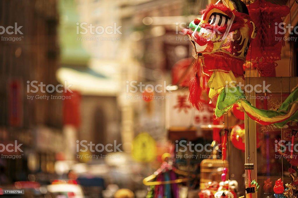 Chinatown stock photo