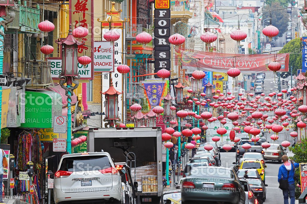 Chinatown - San Francisco royalty-free stock photo
