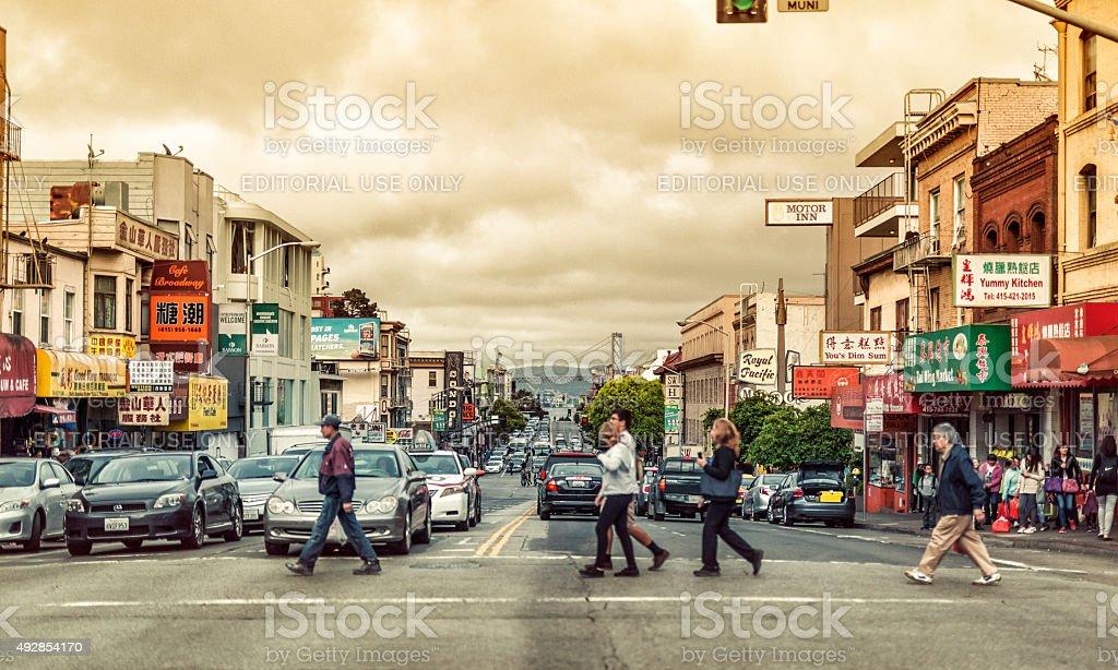 Chinatown, San Francisco stock photo