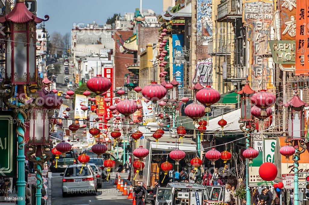 Chinatown - San Francisco stock photo