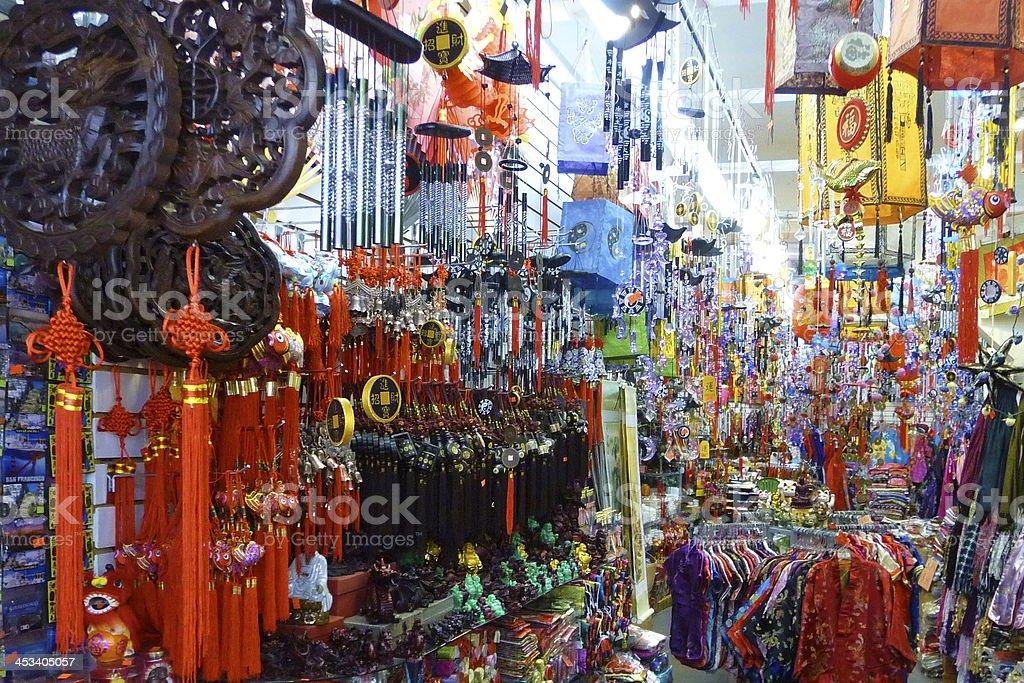 Chinatown Shop 1 stock photo