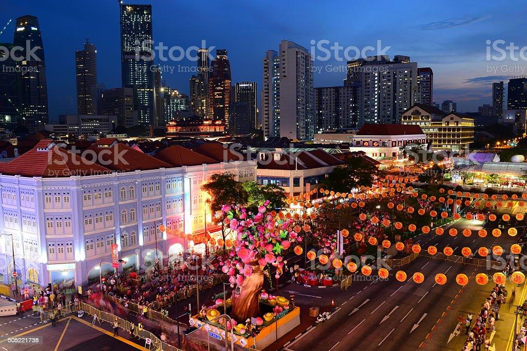 Chinatown, Singapore. stock photo