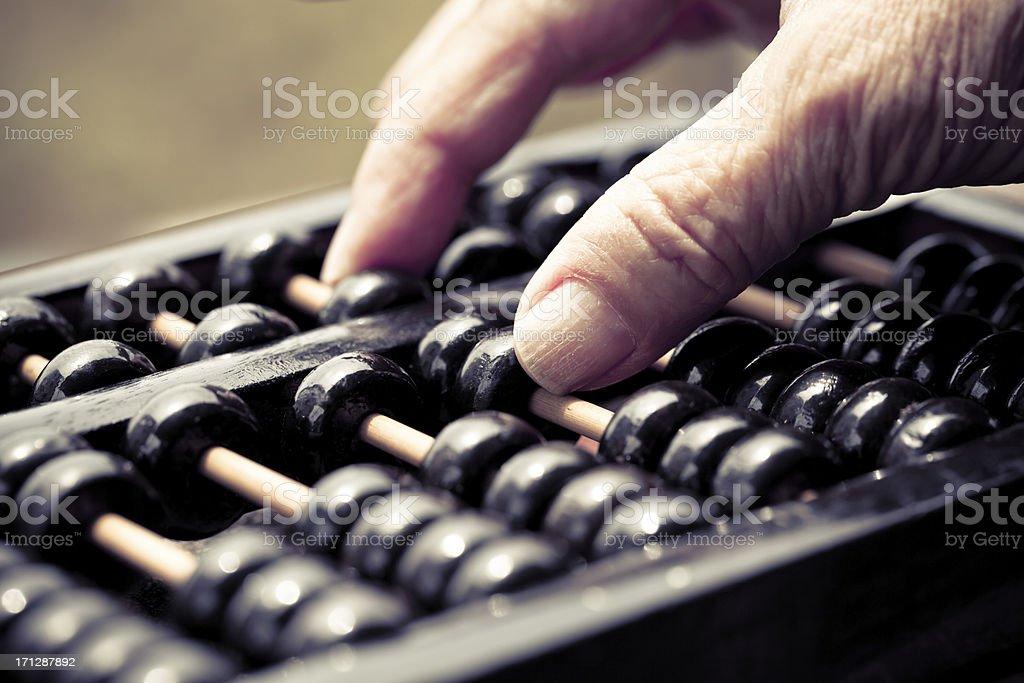 Chinese Abacus stock photo