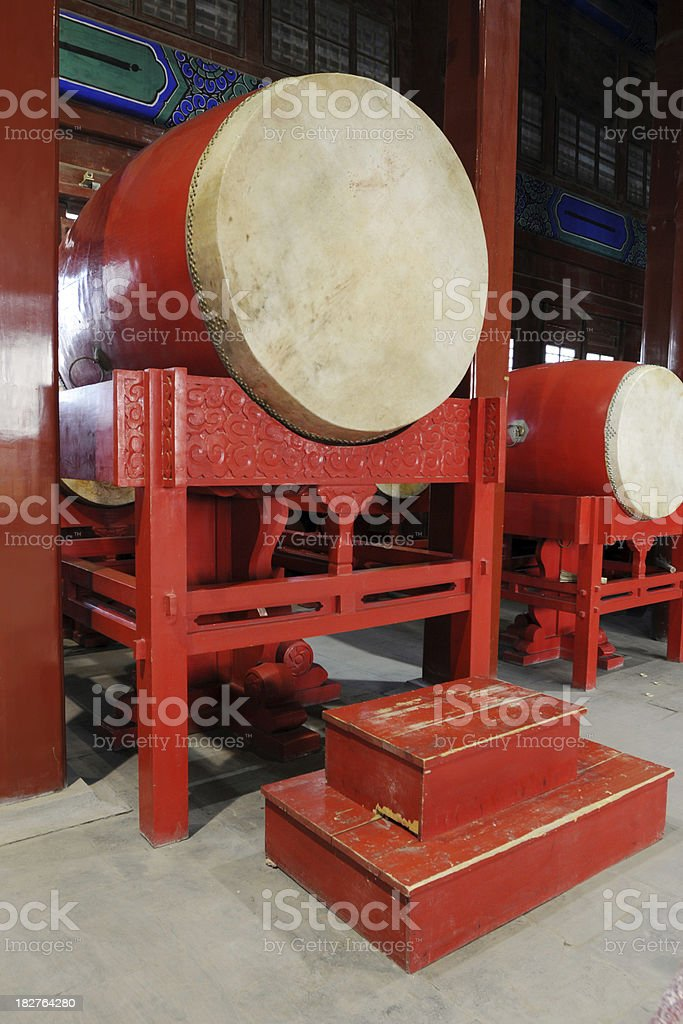 Chinese Ancient Drum  - Large stock photo