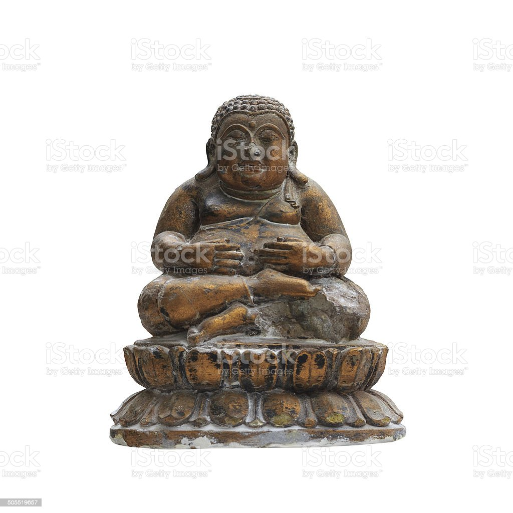 Chinese Ancient god stock photo