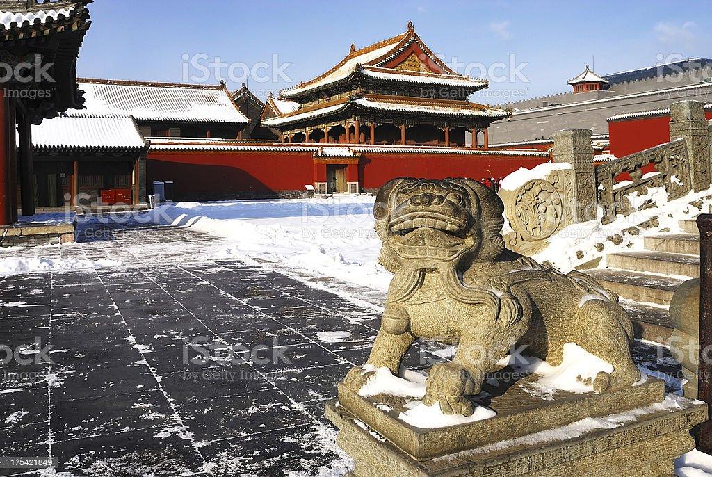 Chinese Ancient Palace stock photo