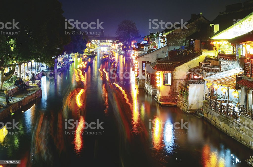Chinese Ancient Town royalty-free stock photo