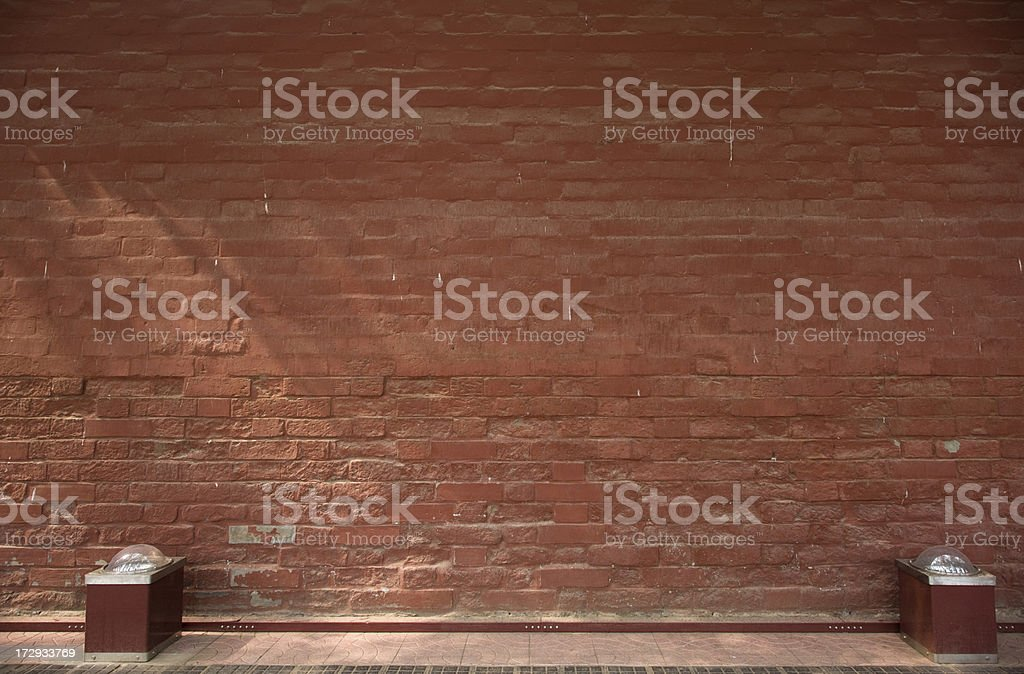 Chinese ancient wall stock photo