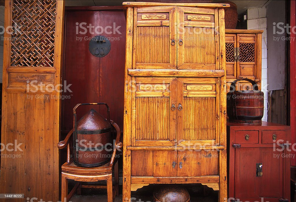 Chinese Antiques royalty-free stock photo