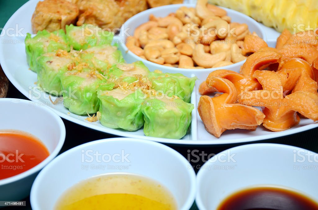 Chinese appetizer. royalty-free stock photo
