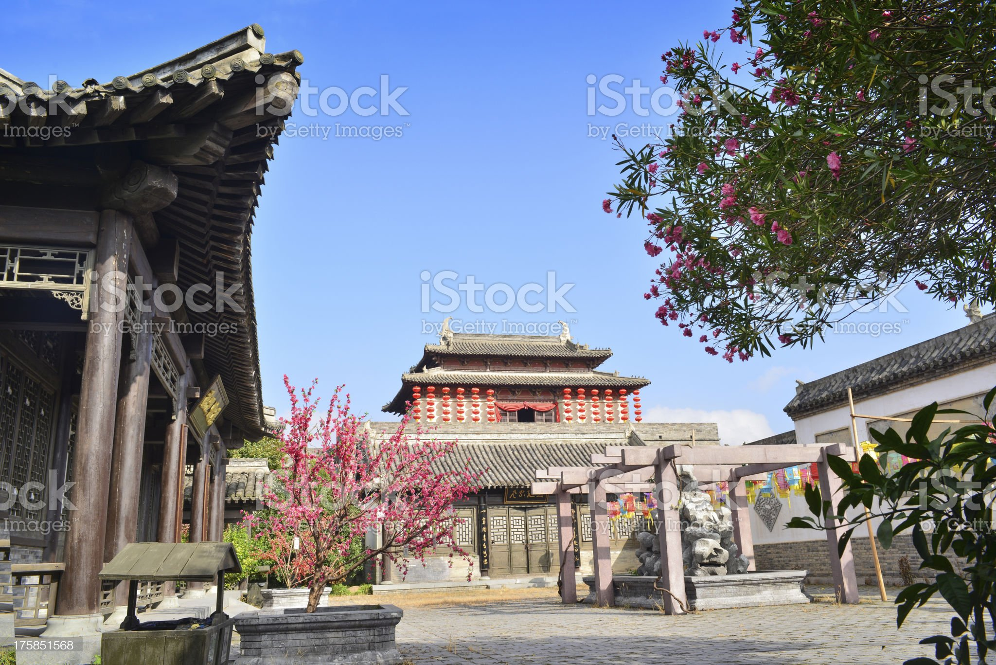 Chinese architecture royalty-free stock photo