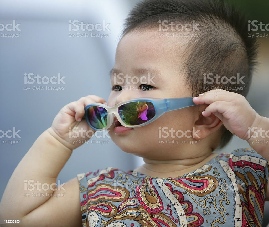 Chinese Baby royalty-free stock photo