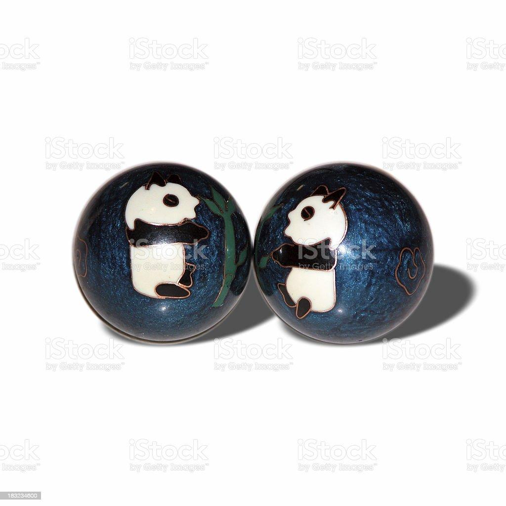 Chinese Balls stock photo