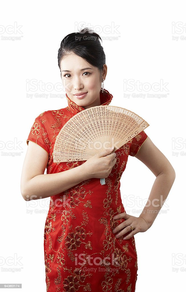 chinese beauty royalty-free stock photo