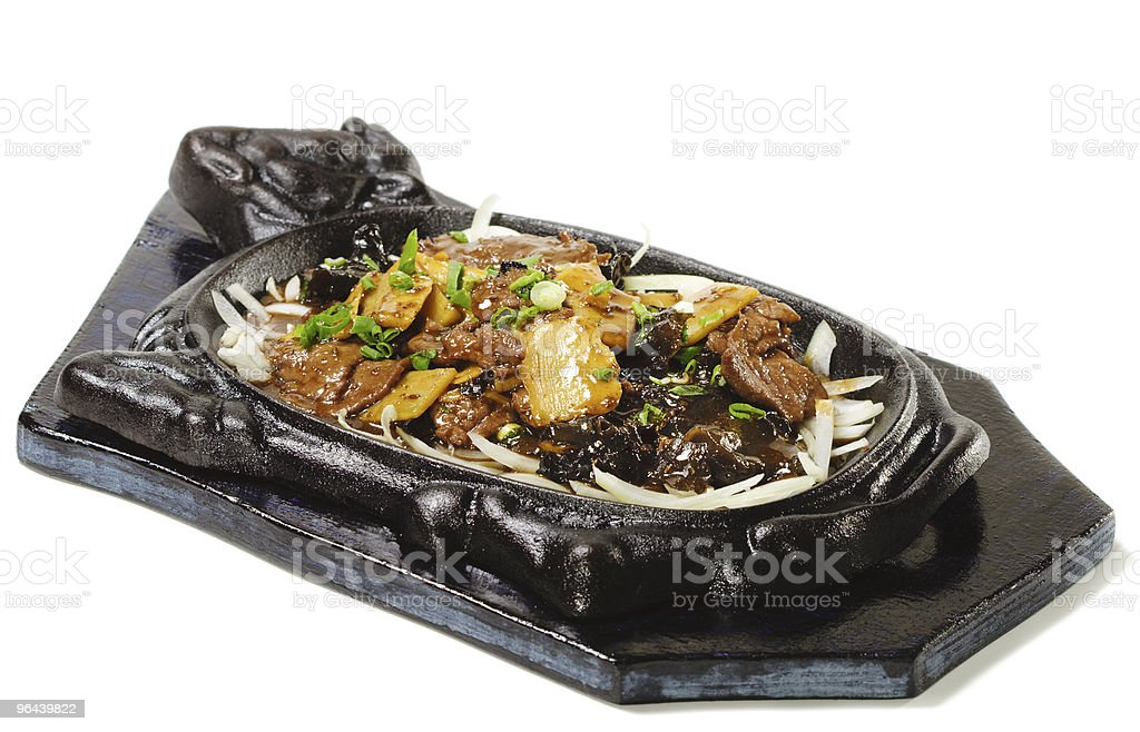 Chinese - Beef with Asparagus royalty-free stock photo
