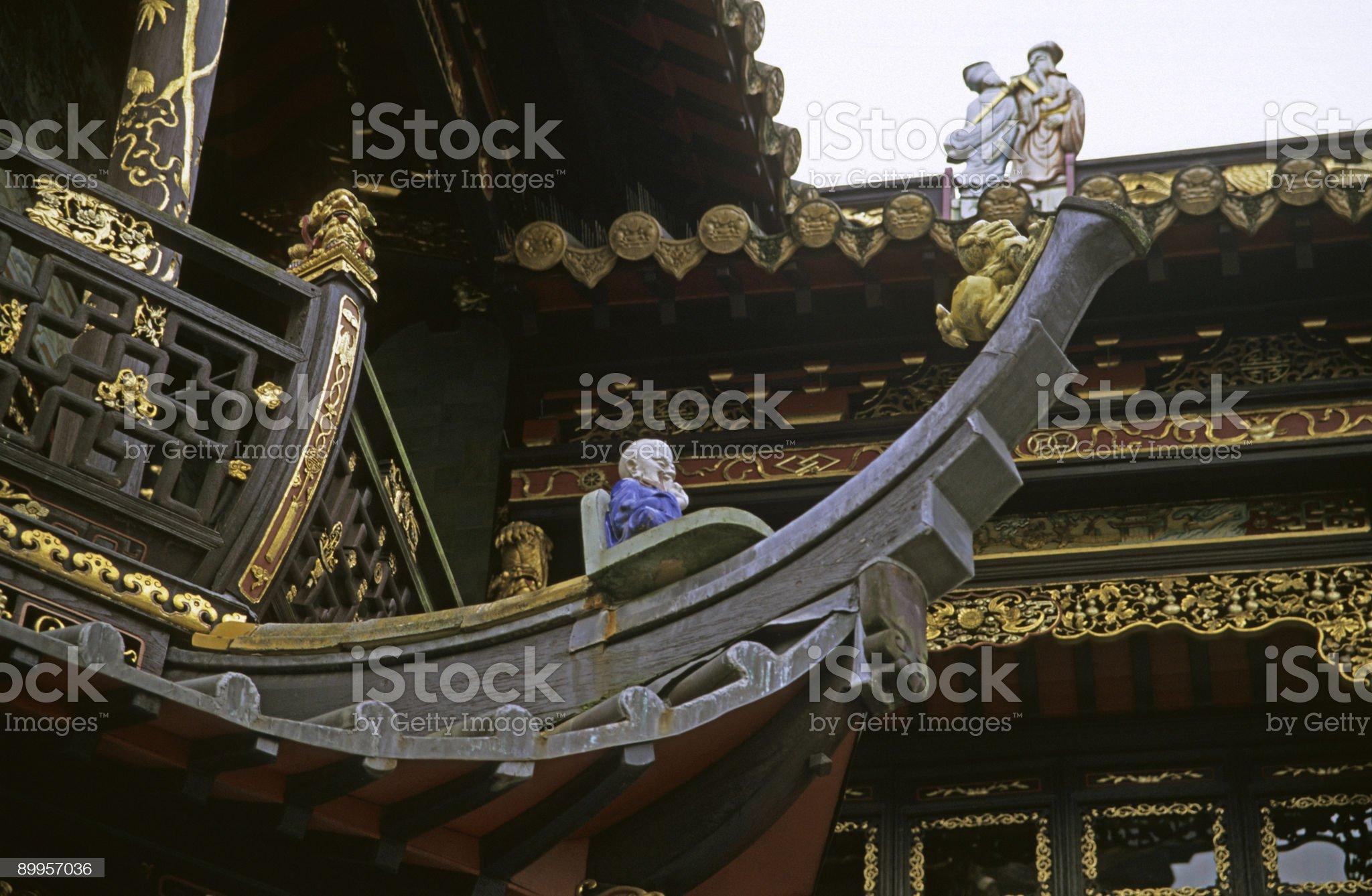 Chinese Boat Detail royalty-free stock photo