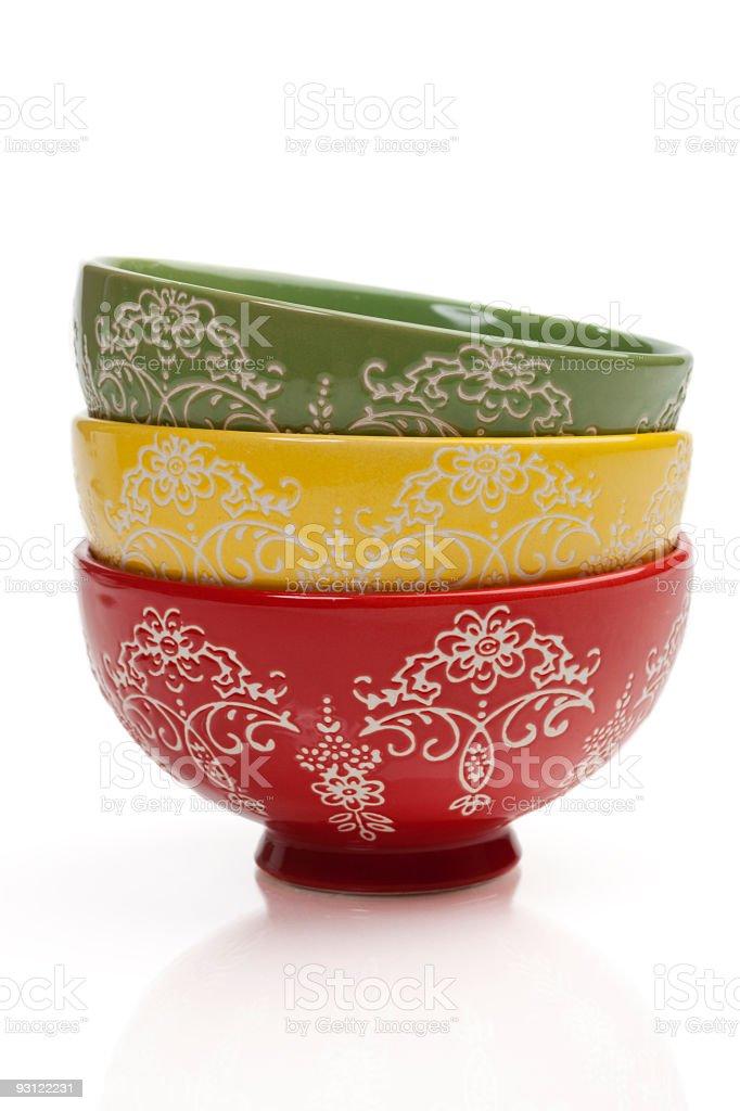Chinese Bowl stock photo