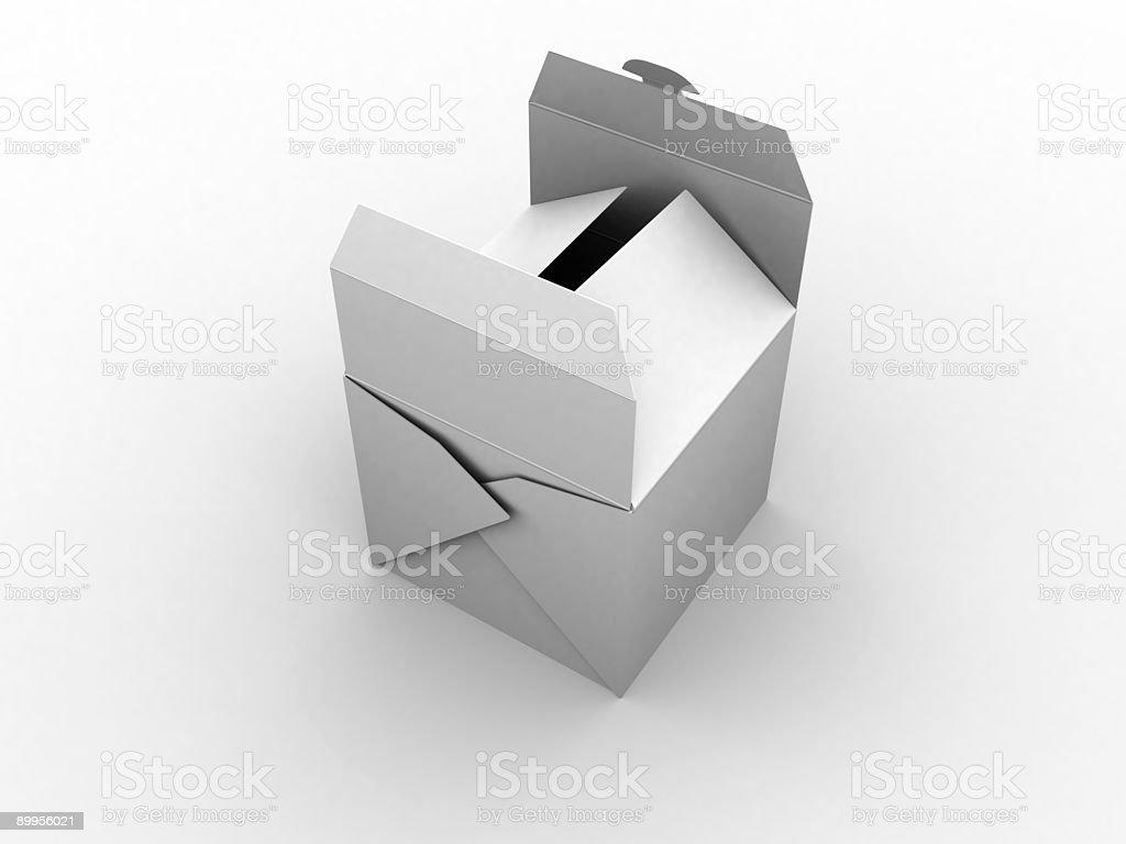 Chinese box royalty-free stock photo
