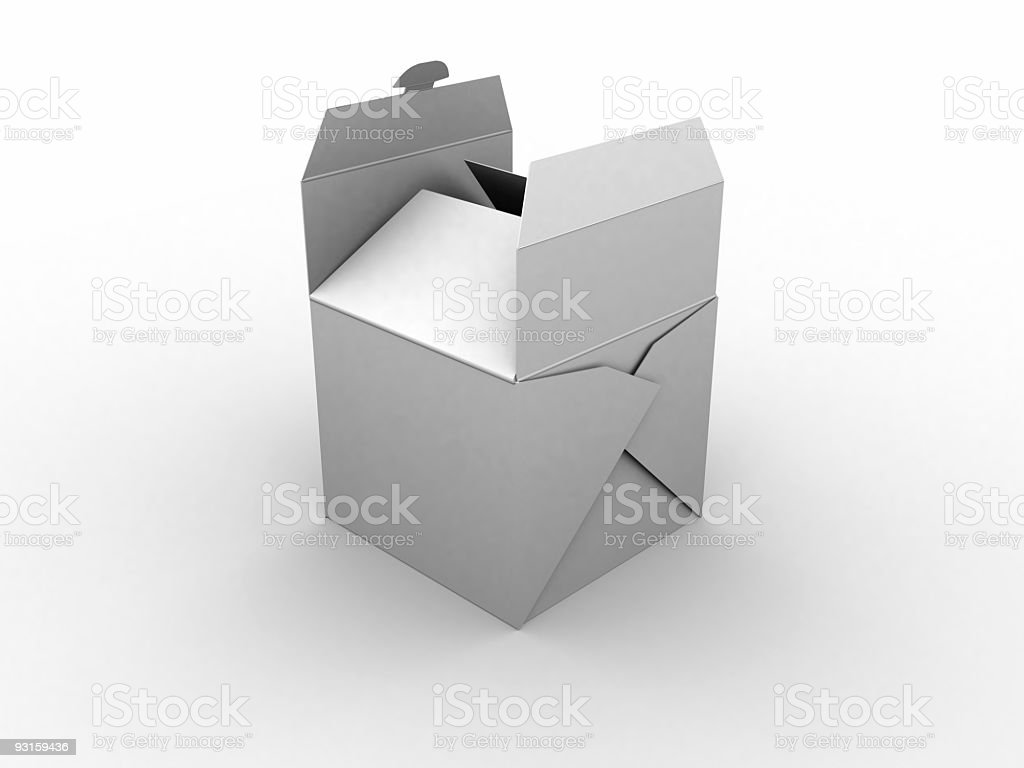 Chinese box stock photo