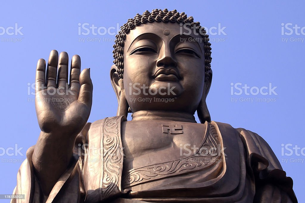 chinese buddha stock photo