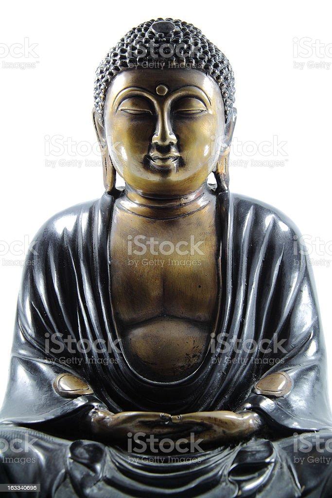 chinese buddha statue royalty-free stock photo