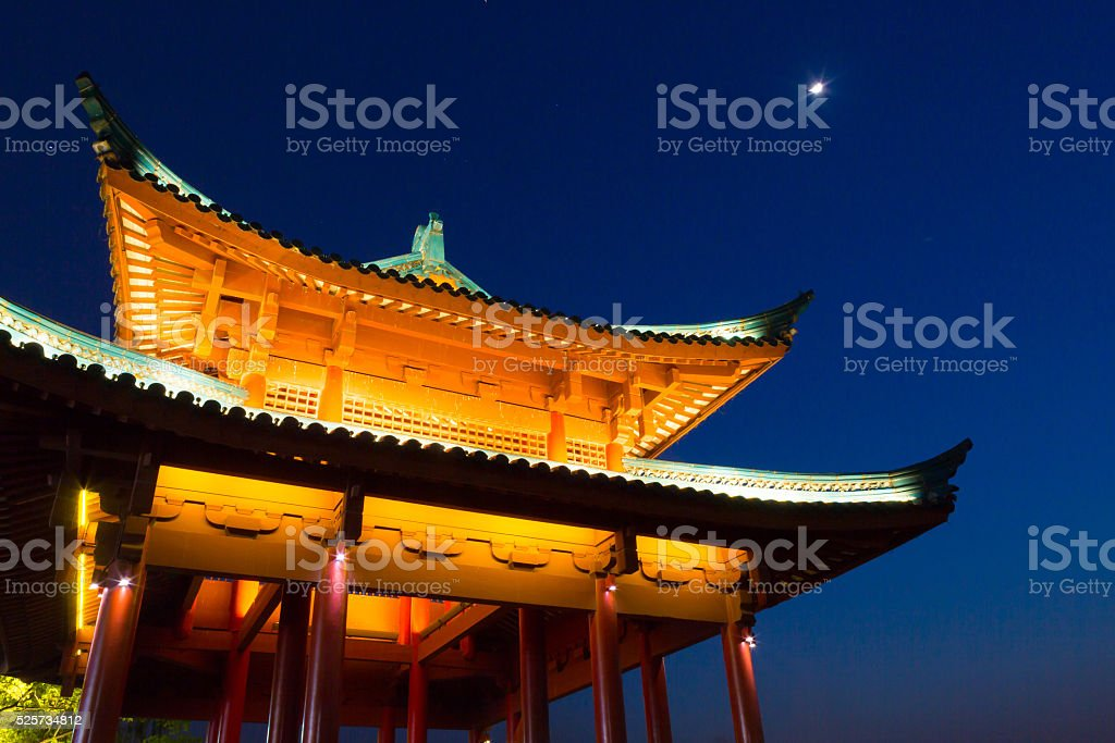 Chinese building. stock photo