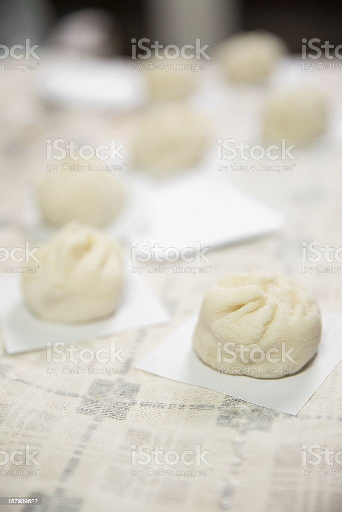 Chinese buns - Stock Image royalty-free stock photo