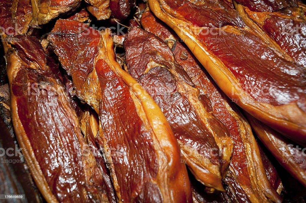 Chinese burned bacon royalty-free stock photo