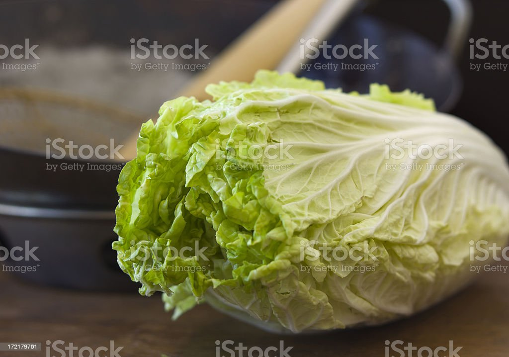 Chinese Cabbage Hz royalty-free stock photo