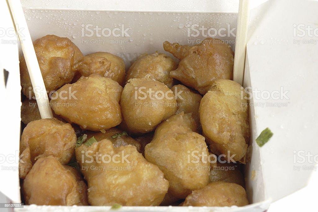 Chinese Chicken stock photo