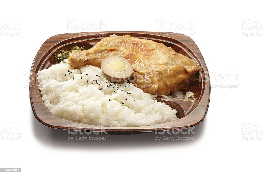chinese chicken quick meal stock photo