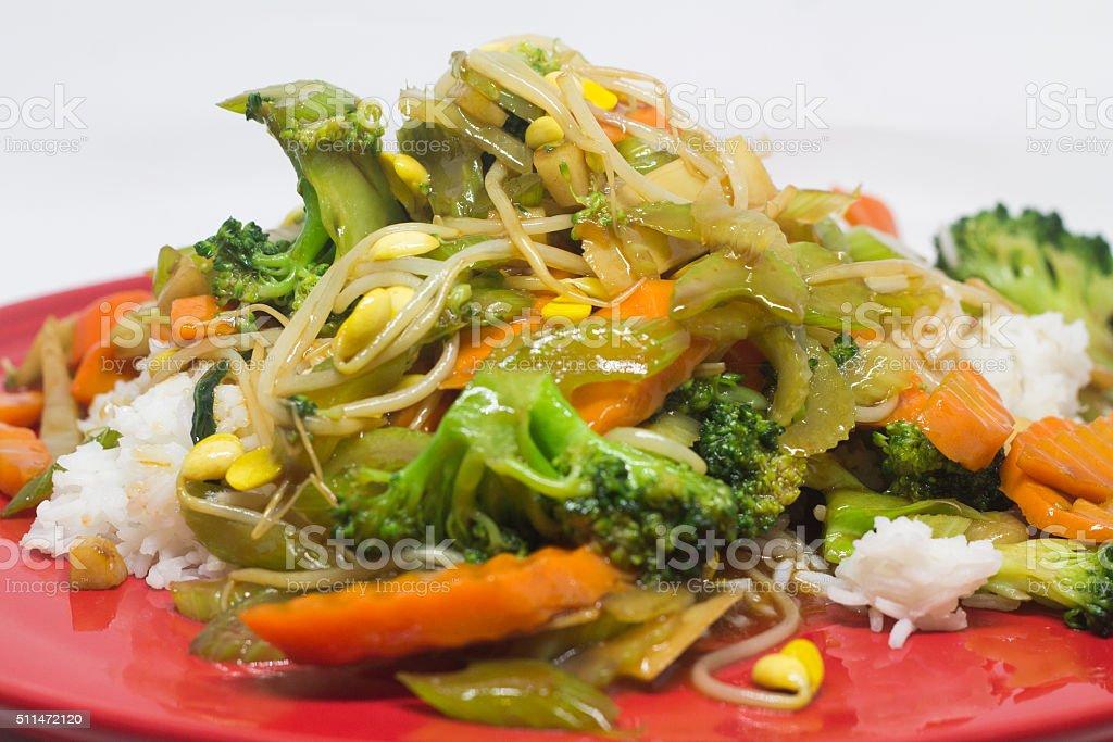 Chinese Chop Suey stock photo