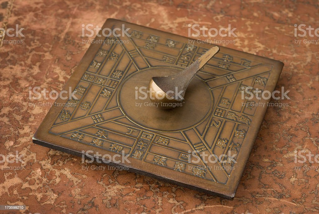 Chinese Compass royalty-free stock photo