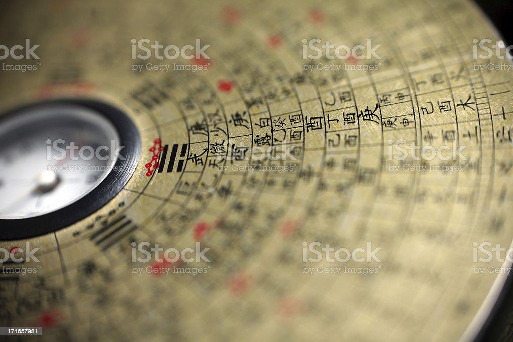 Chinese Compass stock photo