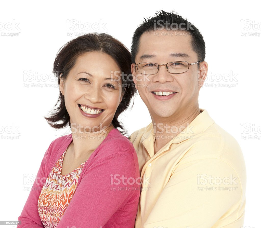 Chinese Couple royalty-free stock photo